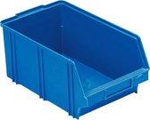 stapelbak kunststof  330x210x155 blauw