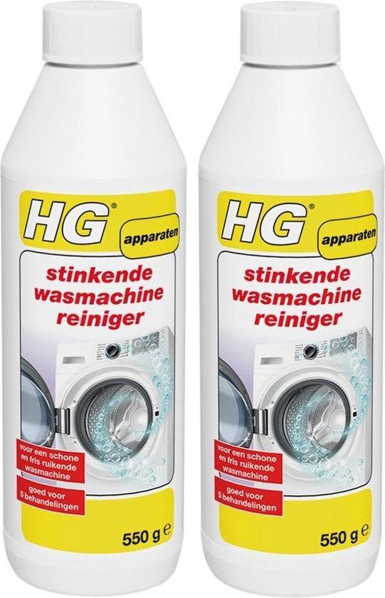 HG stinkende wasmachine reiniger - 2 Stuks !