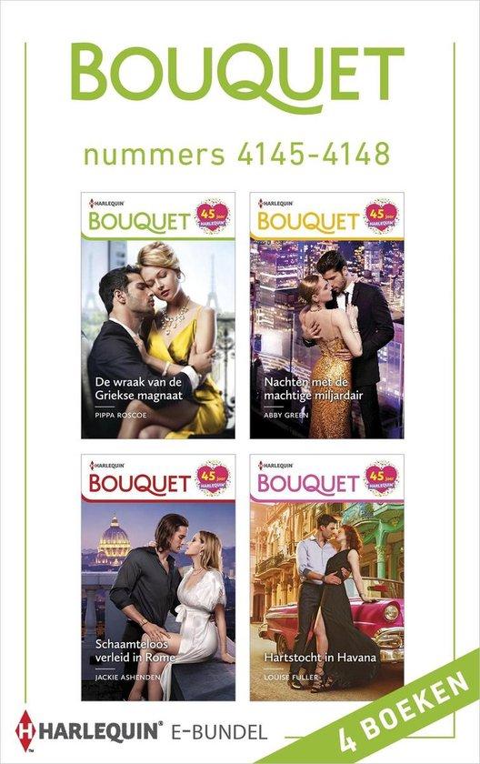 Bouquet e-bundel nummers 4145 - 4148 - Abby Green |