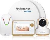Bol.com-Luvion Essential Limited Babyfoon met Camera + Babysense 7 - Sensormatje - 5 Sterren Veiligheidsvoordeelbundel-aanbieding