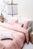 Walra Dekbedovertrek The New Vintage 135x200 cm roze