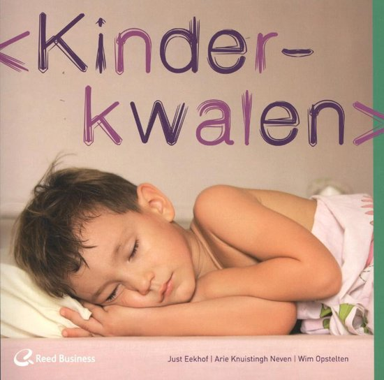 Cover van het boek 'Kinderkwalen'