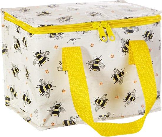 Lunchtasje / koeltasje bijen van Sass & Belle