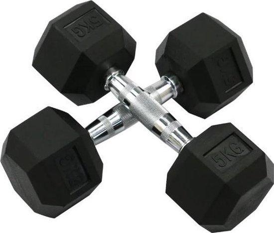 Dumbbell 5kg - dumbbell - gewicht - professioneel gewicht