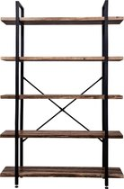 VDD Wandkast  - industrieel - metaal/hout - zwart