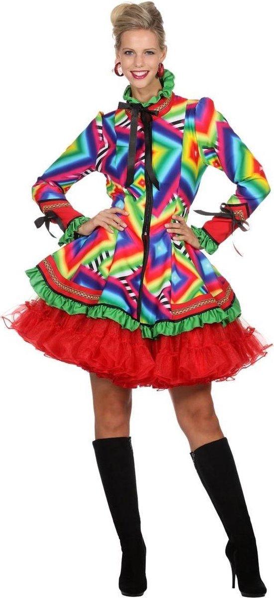 Jaren 80 & 90 Kostuum | Jas Disco Mazzo Vrouw | Maat 42 | Carnaval kostuum | Verkleedkleding