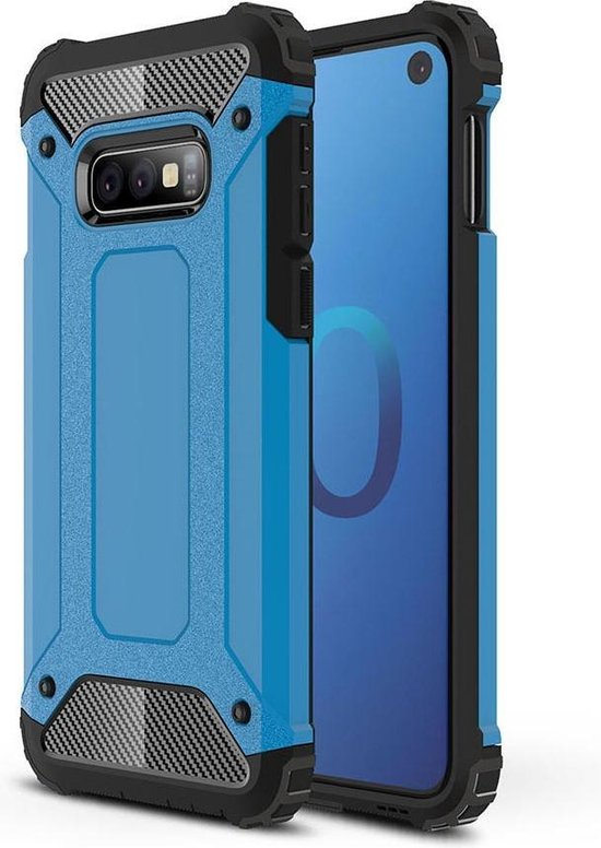 Mobigear Tough Armor Blauw Samsung Galaxy S10e