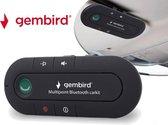 Gembird BTCC-03 Multipoint Bluetooth carkit - Laadtijd: 2-3 uur - Headset - Handsfree
