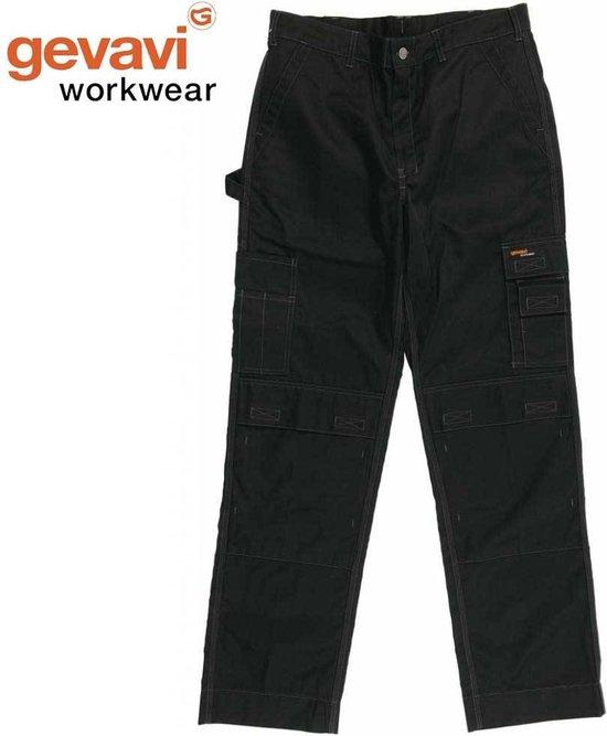 Gevavi Werkbroek - zwart - maat 52