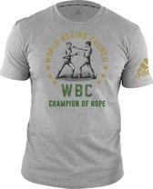 Adidas WBC T-Shirt Grijs-S