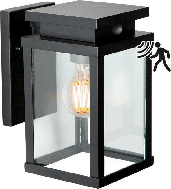 KS Verlichting Jersey M met sensor Buitenlamp Wandlamp Zwart