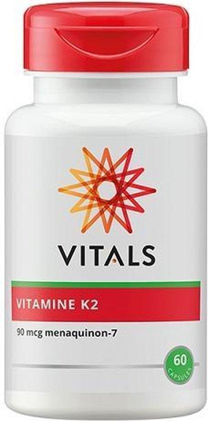 Vitals Vitamine K2 90 mcg 60 vegicaps