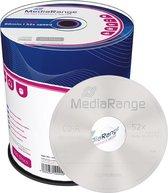 CD-R MediaRange 700MB 100pcs Spindel 52x