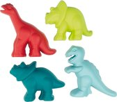 écoiffier Dinosaurus Zandvormpjes 4 Stuks