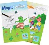 Kinderboeken Kinderboek Kikker toverblok per stuk