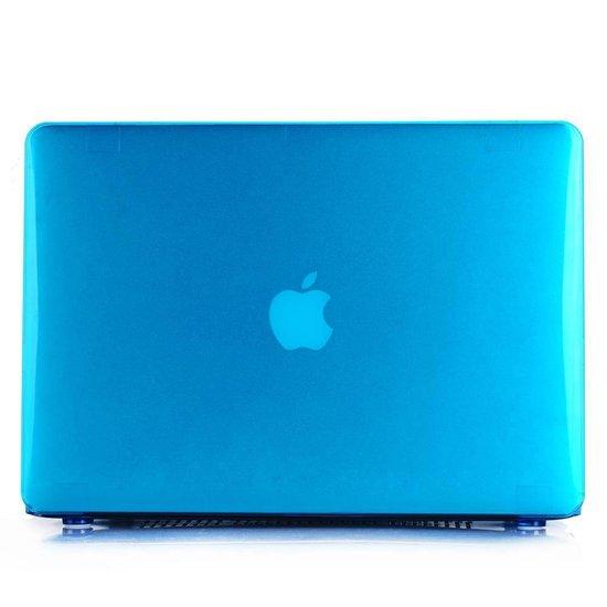 Lunso - hardcase hoes - MacBook Air 13 inch (2010-2017) - glanzend lichtblauw