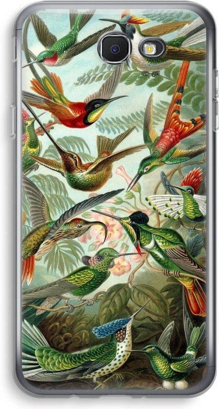 Samsung Galaxy J5 (2017) Prime Transparant Hoesje (Soft) - Haeckel Trochilidae