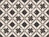 Vinyl vloervinyl | Vintage Floor Tile old dark | 90x120cm