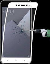 0.1mm 9 H Volledig Scherm Flexibele Vezel Aangemaakte Glasfilm voor Xiaomi Redmi Nota 5A (Wit)