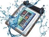 Waterdichte tablet hoes met audio aansluiting,  voor de beste bescherming op vakantie en werk, zwart , merk i12Cover