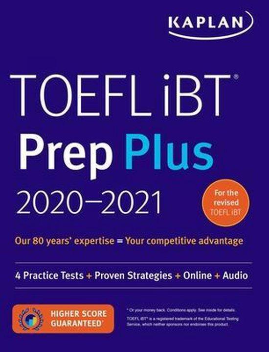Boek cover TOEFL iBT Prep Plus 2020-2021 van Kaplan Test Prep (Paperback)