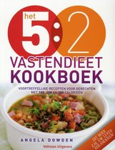 Boek cover Het 5:2 vastendieet kookboek van Angela Dowden