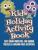 Kids Holiday Activity Book