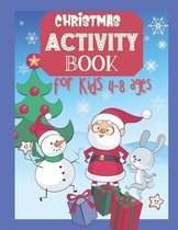 Christmas Activity Book for Kids 4-8 Ages