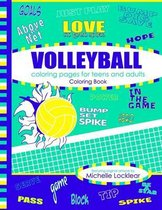 Volleyball Coloring Pages for Teens and Adults Coloring Book
