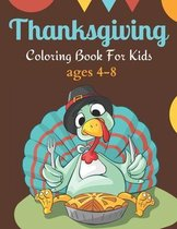 Thanksgiving coloring books for kids ages 4-8