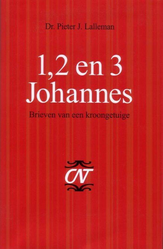 Cover van het boek '1, 2 en 3 Johannes' van P.J. Lalleman en  Lalleman