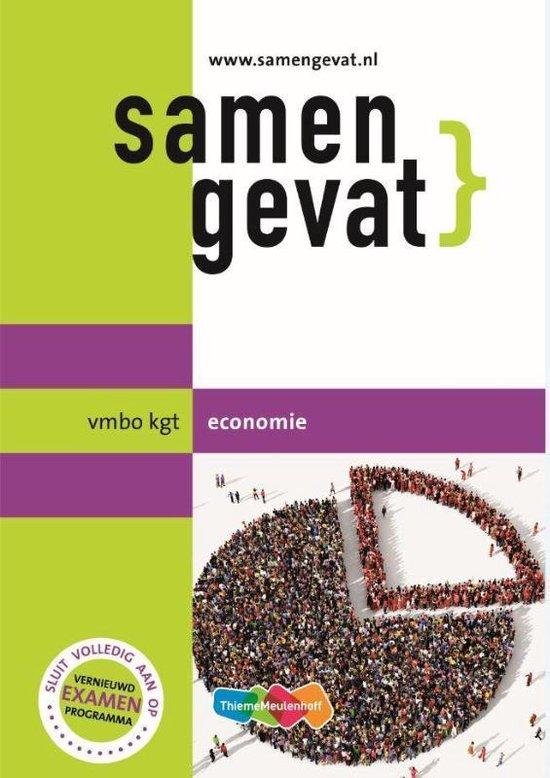 Boek cover Samengevat vmbo-kgt Economie van  (Paperback)