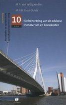 Bouw- en aanbestedingsrecht 10 -   De honorering van de adviseur, honorarium en bouwkosten