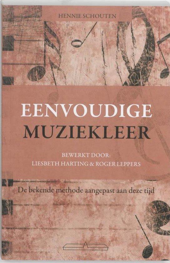 Cover van het boek 'Eenvoudige muziekleer'
