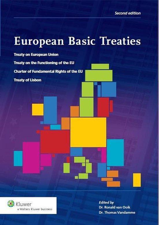 Boek cover European basic treaties van P. DHaens (Paperback)