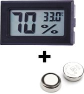 Tool Meister - Hygrometer en Temperatuurmeter - 2