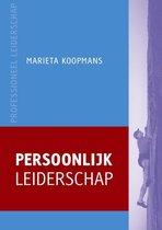 Professioneel leiderschap  -   Persoonlijk leiderschap
