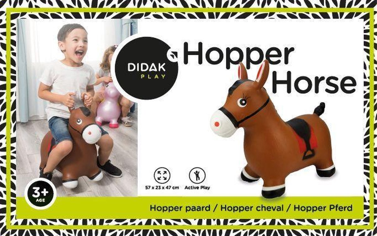 Skippy Dier Paard - Didak - Hopper Horse