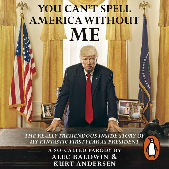 Boek cover You Cant Spell America Without Me van Alec Baldwin (Onbekend)