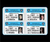 DC Comics: Gotham TV G.C.P.D. ID Badge Set with Holder
