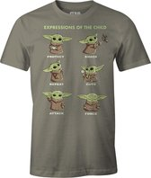 Baby Yoda Shirt – Child Expressions maat S