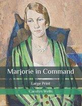 Omslag Marjorie in Command