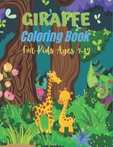 GIRAFFE Coloring Book For kids Ages 9-12