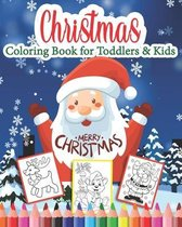 Christmas Coloring Book for Toddlers & Kids Merry Christmas