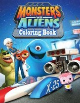 Monsters vs Aliens Coloring Book
