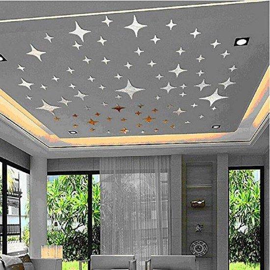 Bol Com Zelfklevende Sterren Wanddecoratie Muurstickers Muur Plafond Decoratie Stickers