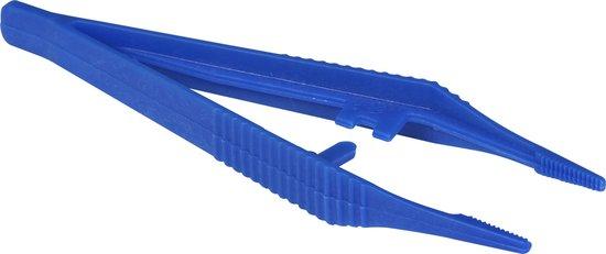 Afbeelding van Pixelhobby Pincet Kunststof blauw speelgoed