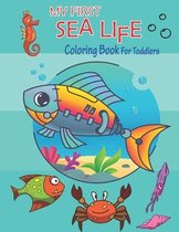 My First Sea Life Coloring Book for toddlers