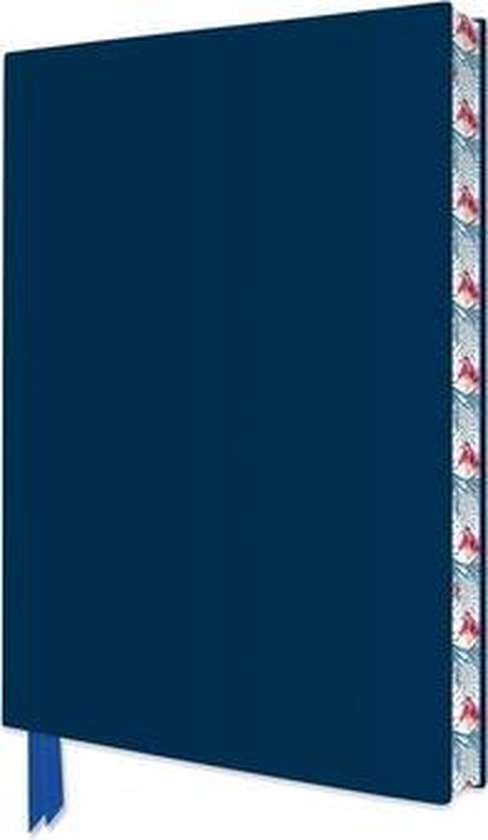 Metallic Blue Artisan Notebook (Flame Tree Journals)