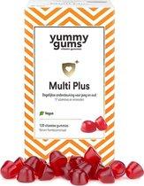Yummygums Multi Plus - multivitamine - met vitamine b12, D3 en C - 100% vegan - ook voor kinderen